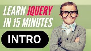 getlinkyoutube.com-Learn jQuery in 15 minutes – Series Welcome