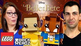 getlinkyoutube.com-NOUVEAUX LEGO BrickHeadz ! La Belle et la Bête collection 😁