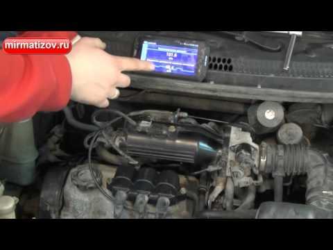 Расположение компрессора кондиционера у Daihatsu YRV