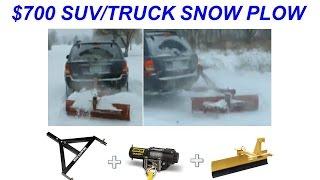 getlinkyoutube.com-Hitch 'N Plow™- $700 Snow Plow for Trucks/SUV's