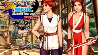 Capcom Vs. SNK PRO [PS1] Yuri - Mai