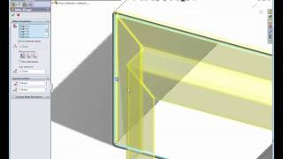 getlinkyoutube.com-Sheet Metal in SolidWorks
