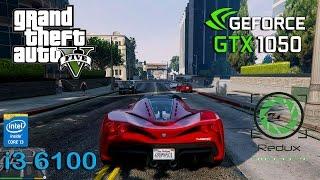 getlinkyoutube.com-GTA 5 Redux : GTX 1050 - i3 6100