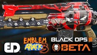 getlinkyoutube.com-Black Ops 3: DEADPOOL Theme Paint Job (Emblem Attack 3)