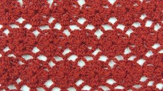 Crochet: Punto Enrejado con Flor # 2