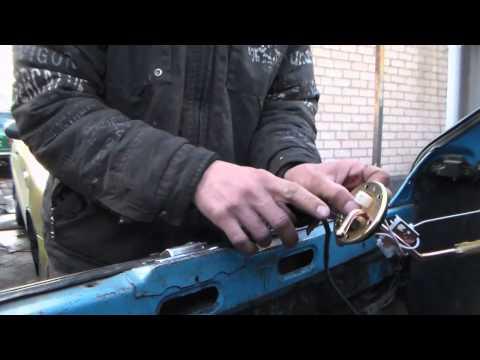 Замена датчика уровня топлива(бензобак)-ТАВРИЯ.
