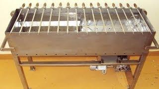 Металлический мангал своими руками. Homemade metal grill.