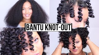 getlinkyoutube.com-How To Get The PERFECT Bantu Knot Out - GUARANTEED Results!!