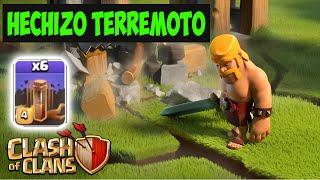getlinkyoutube.com-HECHIZOS DE TERREMOTO - Clash of Clans hechizos oscuros
