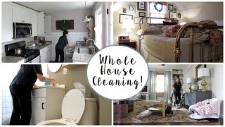 WHOLE HOUSE CLEANING Vlog!