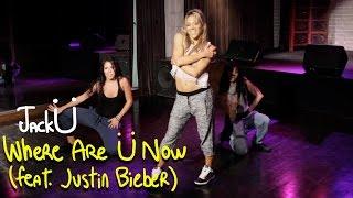 getlinkyoutube.com-Skrillex and Diplo - Where Are Ü Now with Justin Bieber (Dance Tutorial)