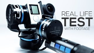 GoPRO Gimbal TEST & Review With Footage | Feiyu G3 3-Axis Gimbal