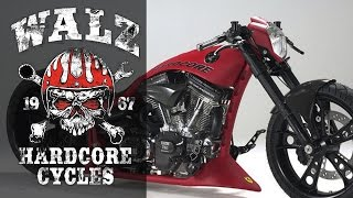 "getlinkyoutube.com-Harley-Davidson Screamin Eagle ""S & S"" by Walz Hardcore Cycles 