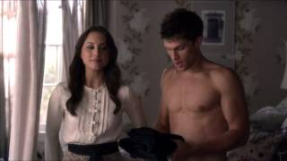 "getlinkyoutube.com-Spencer and Toby ""You Forgot Your Shirt"" Clip 1 - Pretty Little Liars 3x16"