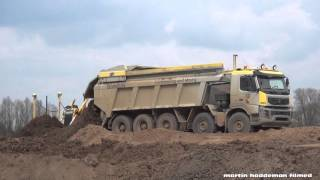 volvo 460 bas 10x4 mining truck