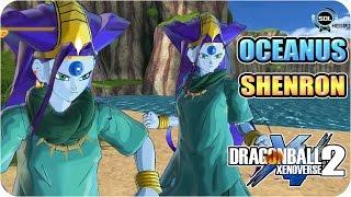 Oceanus Shenron VS Goku GT - Dragon Ball Xenoverse 2 mod