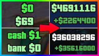 getlinkyoutube.com-HOW YOU CAN BECOME A MILLIONAIRE IN GTA ONLINE IN ONE DAY - NEW GTA 5 DLC FAST & EASY MONEY MAKING!