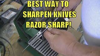 getlinkyoutube.com-BEST WAY to Sharpen Any Knife RAZOR SHARP!