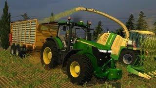getlinkyoutube.com-Farming simulator 2013 JD7215 R Insilato Belgique profonde