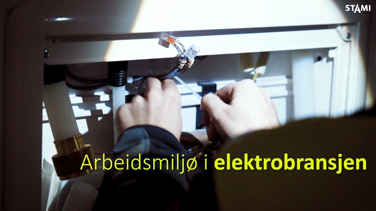 Fremhevet bilde fra «Arbeidsmiljø i elektrobransjen»