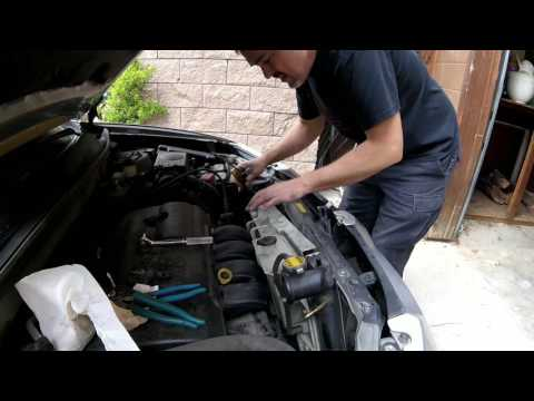 Pontiac Vibe Radiator replacement