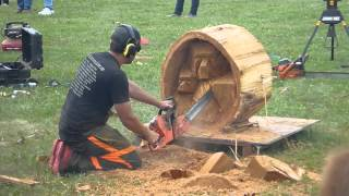getlinkyoutube.com-Chetwynd Chainsaw Carving