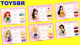 getlinkyoutube.com-TOYSBR Disney Princess Cupcake Party Game | Cupcake Surpresa Princesas Anna Elsa Ariel Mulan