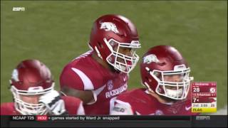 getlinkyoutube.com-Alabama Crimson Tide at Arkansas Razorbacks in 30 Minutes - 10/8/16