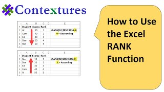 getlinkyoutube.com-How to use the Excel RANK Function