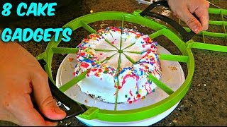 getlinkyoutube.com-8 Cake Cutting Gadgets put to the TEST