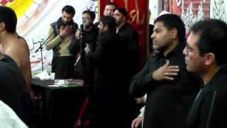 Karo Band Bazaar Muslmano Punjabi Noha at Macerata 1437AH2015