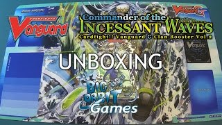 getlinkyoutube.com-Cardfight!! Vanguard G-CB02 Commander of the Incessant Waves Unboxing