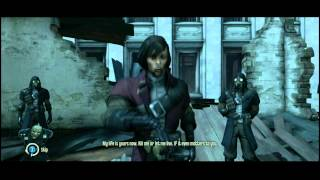 getlinkyoutube.com-Dishonored - Knife of Dunwall DLC: Low Chaos Ending (Billie Lurk Dead + Alive Scene)