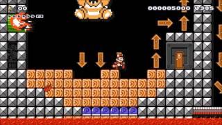 getlinkyoutube.com-Super Mario Maker SMB3 Bowsers Castle Remix