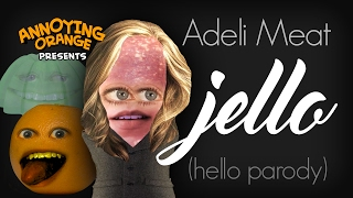 getlinkyoutube.com-Annoying Orange: Adeli Meat - Jello (Hello Parody)