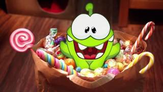 getlinkyoutube.com-Om Nom Stories Cut The Rope Funny Cartoons For Kids  Ice Jelly Candy Halloween Surprise  Chotoonz TV