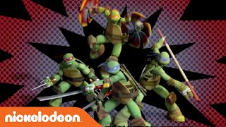 getlinkyoutube.com-Teenage Mutant Ninja Turtles | Theme Song (Karaoke Version) | Nick