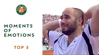 getlinkyoutube.com-Top 5 moments at Roland Garros - Emotions
