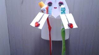 getlinkyoutube.com-Best Out Of Waste Plastic Bathroom Organiser