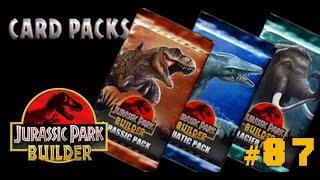 getlinkyoutube.com-Card Pack Update!!! | Jurassic Park Builder [Episode 87]