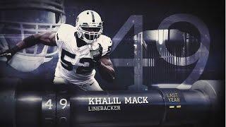 getlinkyoutube.com-#49 Khalil Mack (LB, Raiders)   Top 100 Players of 2015