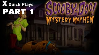 Xin Quick Plays: Scooby Doo Mystery Mayhem (PS2): Part 1: The Haunting Of Hambridge