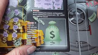 getlinkyoutube.com-$20 SUPER Break The Bank Texas Lottery Scratch Off Ticket