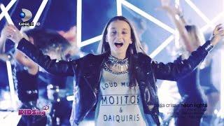 getlinkyoutube.com-Daria Crisan canta Neon Lights - Videoclip Finala - KIDSing 2014