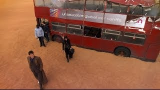getlinkyoutube.com-London Bus Transports To Desert - Doctor Who - Planet Of The Dead - BBC