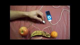 getlinkyoutube.com-How to Charge an iPod with fruits.