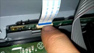 getlinkyoutube.com-Emerson lcd repair vertical lines