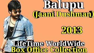 Ravi Teja BALUPU 2013 South Indian Movie LifeTime WorldWide Box Office Collection Rating Cast