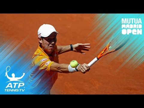 Nishikori brilliant shots to beat Schwartzman | Mutua Madrid Open 2017 Highlights Day 3
