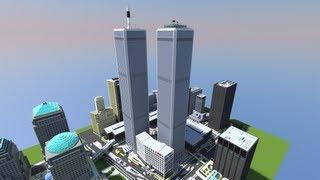 getlinkyoutube.com-Minecraft World Trade Center Never Die